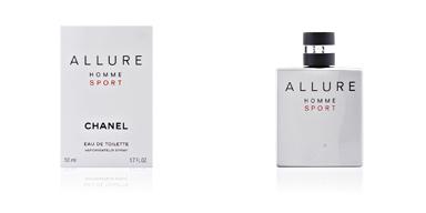 Chanel ALLURE HOMME SPORT edt zerstäuber 50 ml