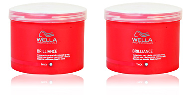 Wella BRILLIANCE mask coarse hair 500 ml