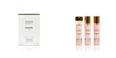 Chanel COCO MADEMOISELLE edp spray 3x20 refill