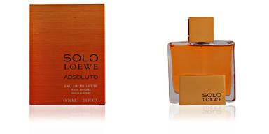 Loewe SOLO LOEWE ABSOLUTO edt vaporizador 75 ml