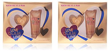 Agatha Ruiz De La Prada LOVE GLAM LOVE SET 2 pz