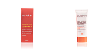 Suiskin DAILY DEFENSE sunblock SPF50+ protection 50 ml