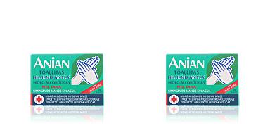Anian HIDRO-ALCOHÓLICO toallitas higienizantes 10 uds