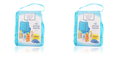 Johnson's BABY MOCHILA bleu COFFRET 5 pz