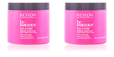 Revlon BE FABULOUS daily care normal cream mask 500 ml