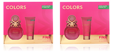 Benetton COLORS PINK LOTE 2 pz