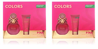 Benetton COLORS PINK SET 2 pz