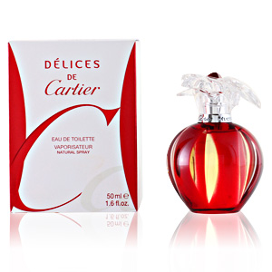 DELICES DE CARTIER edt vaporizador 50 ml