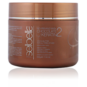 SEIBELLA mask chocolate & keratin 500 ml