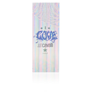 I LOVE JUST CAVALLI HIM edt vaporizador 60 ml