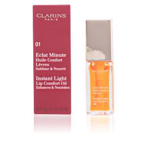 ECLAT MINUTE huile confort lèvres #01-honey 7 ml
