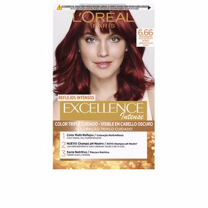 EXCELLENCE INTENSE tinte #6,66 rojo escarlata intenso