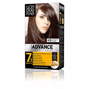 LLONGUERAS COLOR ADVANCE hair colour #4,15-iced chocolate
