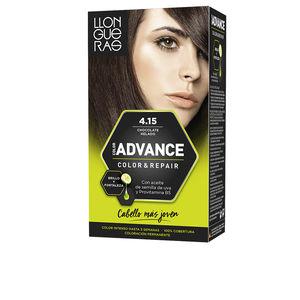 LLONGUERAS COLOR ADVANCE hair colour #4,15-iced chocolate