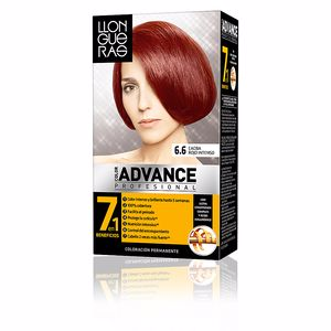 LLONGUERAS COLOR ADVANCE hair colour #6,6-dark red intense