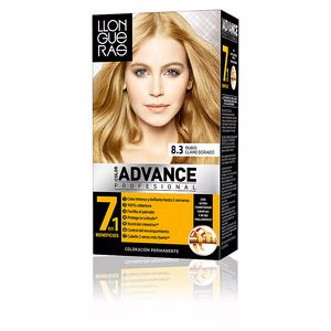 LLONGUERAS COLOR ADVANCE hair colour #8,3-golden light blond