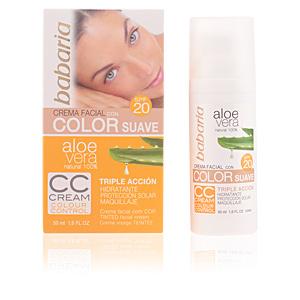 ALOE VERA CC cream SPF20 50 ml
