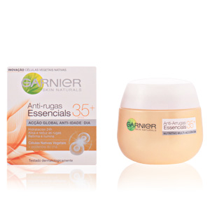 ESSENCIALS anti-arrugas nutritiva día 35+ 50 ml