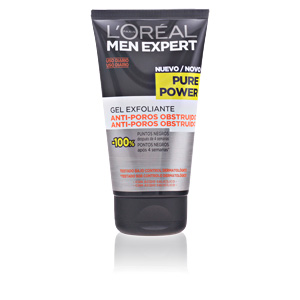 MEN EXPERT pure power cleansing scrub gel 150 ml