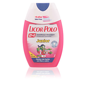 JUNIOR +6 AÑOS dentífrico 2en1 sabor fresa 75 ml