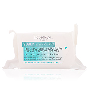 SUBLIME&FRESCA cleansing wipes face&eyes PNM