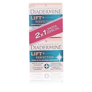 LIFT + PERFECTION DIA CREMA antiedad UNIFICADORA LOTE 2 pz