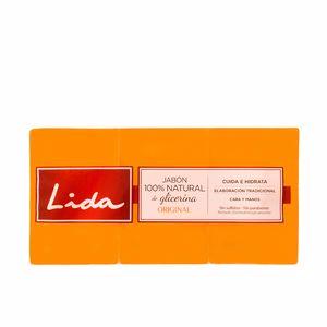 JABON 100% NATURAL GLICERINA ORIGINAL LOTE 3 pz