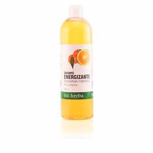 CHAMPÚ energizante mandarina y naranja 500 ml
