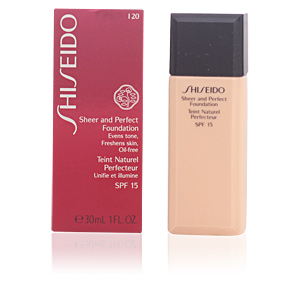 SHEER & PERFECT foundation SPF15 #I20-light ivory 30 ml