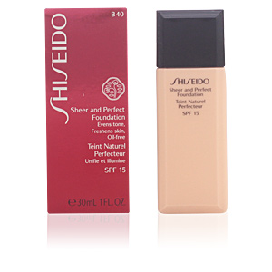 SHEER & PERFECT foundation SPF15 #B40-fair beige 30 ml