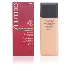 SHEER & PERFECT foundation SPF15 #O40-fair ochre 30 ml