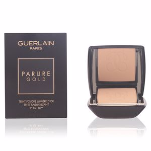 PARURE GOLD fdt compact #02-beige clair 10 gr