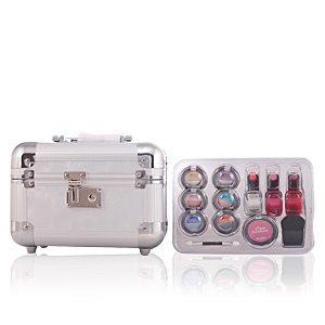 RENDEZVOUS WITH BEAUTY ELEGANT MAKE UP TRAIN CASE 15pz