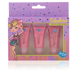 POP LIP GLOSS SENSATION SET 3 pz