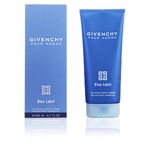 GIVENCHY HOMME BLUE LABEL gel douche 200 ml