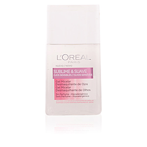 SUBLIME&SUAVE micellar gel eyes makeup remover 125 ml