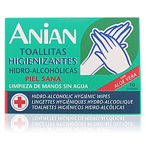 HIDRO-ALCOHÓLICO toallitas higienizantes 10 uds