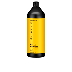 TOTAL RESULTS HELLO BLONDIE shampoo 1000 ml
