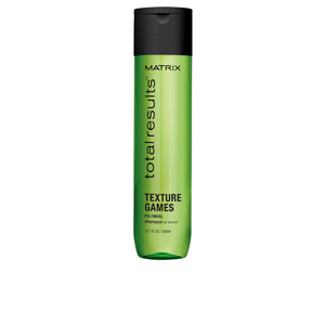 TOTAL RESULTS TEXTURE GAMES shampoo 300 ml