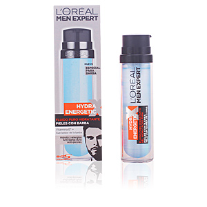 MEN EXPERT hydra energetic fluido piel con barba 50 ml