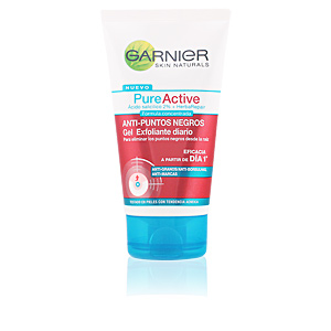 PURE ACTIVE gel exfoliante diario puntos negros 150 ml