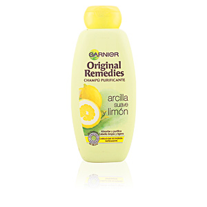 ORIGINAL REMEDIES champú arcilla suave y limón 400 ml