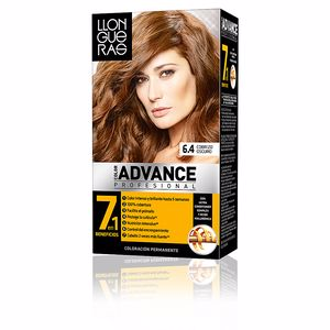 LLONGUERAS COLOR ADVANCE hair colour #6.4 cobrizo oscuro