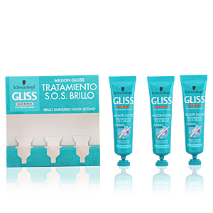 GLISS MILLION GLOSS Tratamiento s.o.s. brillo 3 x 20 ml